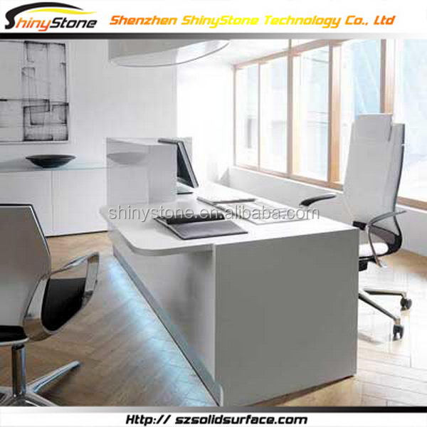 Exclusive modern office modified solid surface office furniture home office desk
