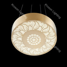 crystal globe pendant lamp remote control promotional price