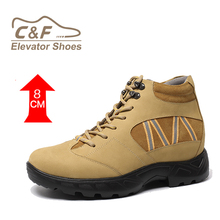 2017 CF High quality leather high cut leather men shoes