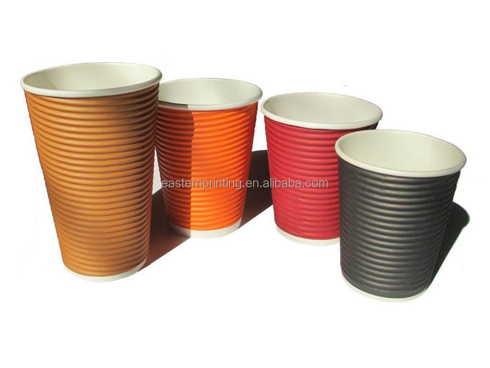 Custom Paper Coffee Cups Toronto Hot Single Walldouble Printed Kraft