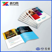 Customized Company products Manual Catalog Printed ; Glossy/Matt Film Lamintion Booklet/Bruchure/ Magazines Supplier from Xiamen