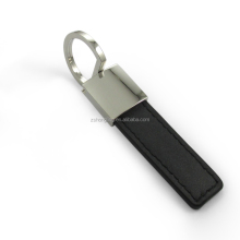 spring hook metal leather keychain key ring key holder