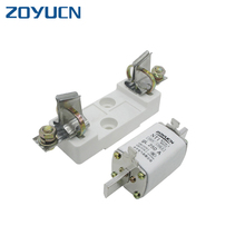 Zoyucn NT1 400A Alarms Cutout Link Electrical Low Voltage Switch Fuse And Holder