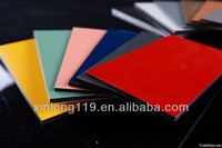 High strength decorative external wall board with fluorocarbon paint