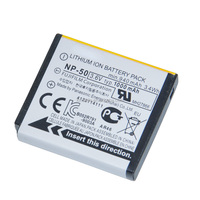 High Capacity Li-ion Camera Rechargeable NP-50 Battery for Fujifilm F200 F300 F60 F70 80 Z100fd