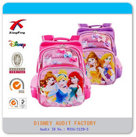 Manufactory XF polyester hot sell cheap kids backpack bags school
