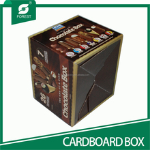 24 BOTTLES CORRUGATED CARDBOARD GIFT PAPER BOX FOR WINE