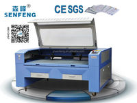 SF1610E CE 100W shoes industry laser cutting machine low cost