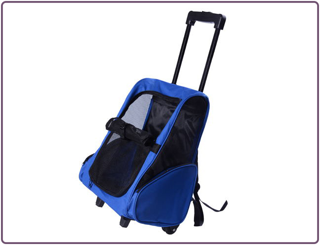 Pet Luggage Animal Dog Trolley Bag