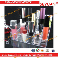 acrylic cosmetic display cabinet and showcase