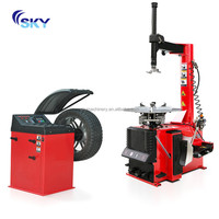 New promotion car garage tools wheel alignment and balancing machine