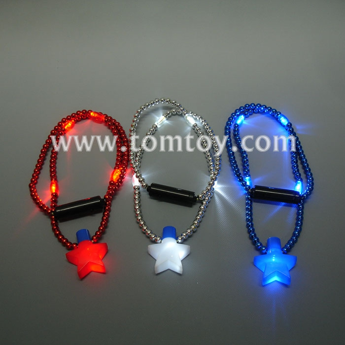 Tomtoy Light Up Star Beaded Necklace