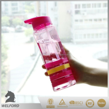newest design reusable BPA Free water bottle with silicone band