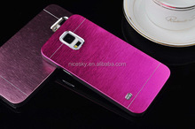 Designer hot sell metal brushed aluminum cell phone case