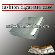 Richmond chormeplate cigarette case, metal cigarette holder for 20pcs cigarettes