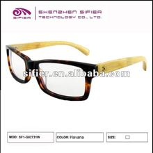 Latest Big Frame Men Bamboo Spectacle