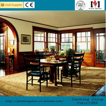China Alibaba Gold factory/Alibaba trade assurance wooden windows pictures with high quality GM-C393