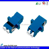 High quality sc fiber optic coupler,lc fc female adapter for network project