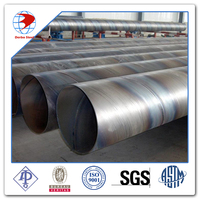 SSAW steel pipe /SPIRAL ASTM API 5L 5CT Q235 CS LSAW 3PE 2PE /Lowest Price/water storag tank