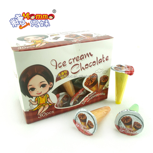 MH-009 ice cream chocolate filled marshmallow