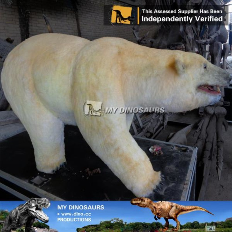 N-C-W-867-animal figurine life size fiberglass sculpture sized bear