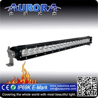 "ip69K waterproof Aurora 30"" single row light bar canton show"