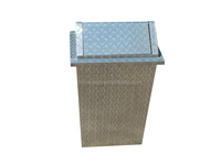 ALUMINIUM DUSTBIN COVER, ALUMINIUM TOOL BOX,portable aluminum tool box for trucks