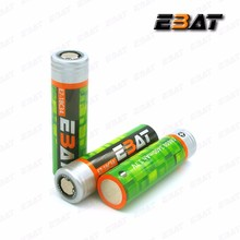 Wholesale EBAT 18650 3400mAh Battery 18650 Li ion NMC Battery PK NCR18650B