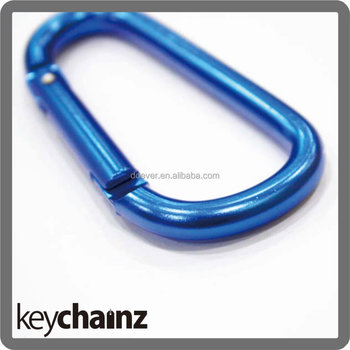 Aluminium Carabiner Hooks With Assorted Color