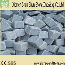 Cheap price grey tumbled stones for paving