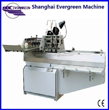 Semi auto book stitcher, exercise book Saddle stitch book binding machine