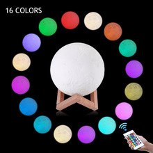 Factory Price 3D Moon Lamp Night Light For Children Gifts Night Light