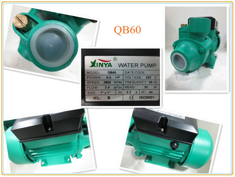 QB60 water pump