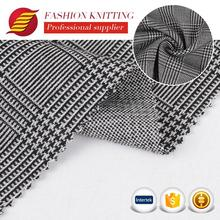 Latest design fashion soft cloth made weft plain jacquard fabric