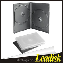 14mm double black/clear DVD case/DVD box