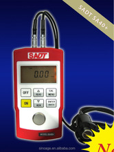 SADT SA40+ Ultrasonic Thickness Gauge can test thickness of metal and plastic covered with coating