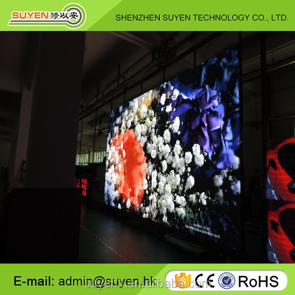 Video function P6 outdoor full color fix installation led advertising screen