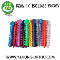 EC&ISO&FDA orthodontics ligature tie Elastic Ring