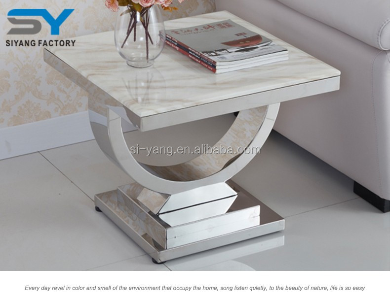 Bedroom furniture l shaped end table bed side table JJ038