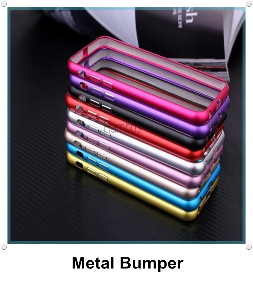 Stainless Steel Metal Bumper Case Aluminum Case for Samsung Galaxy S4 / S5 /S6/ S6 Edge/ Note 2 for iphone 6 / 6 Plus / 4 / 5