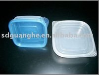 disposable microwave food packaging container with lids