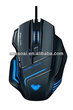new wired 7D laser gaming mouse
