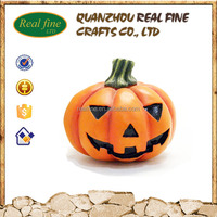 Handmade Crafts Resin Artificial Halloween Pumpkin