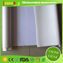 LFGB SGS Food Grade High Quality Silicon Red Silicone Rubber Foam Sheet