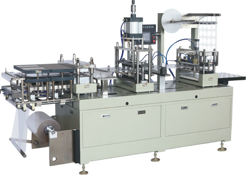 Automatic disposable plastic cup cover/lid making /forming machine