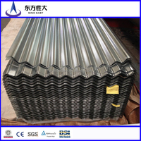 GI colored roofing steel sheet SGCC 0.5mm corrugated sheet