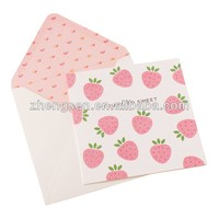 Sweet welcome cards with wordings