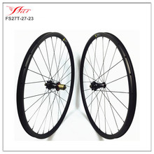 Super light XC mountain bike wheels 27.5er(650B) carbon clincher mtb wheelsets for cross country with Extralite hub 1191g/set