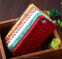 Wholesale Luxury cellphone case for iphone 6 plus genuine python leather case for iphone 6 back cover