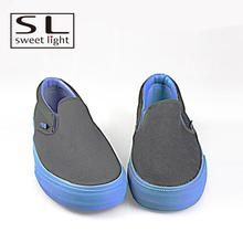 mens new canvas no lace shoes pattern